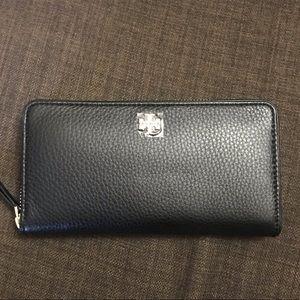 NWOT Tory Burch Marsden Leather Zip Around Wallet